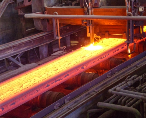 PRCO America continuous casting of metal