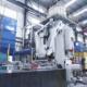 MgO-C refractory press
